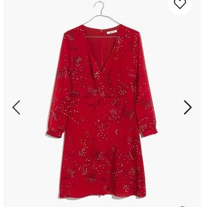 Madewell Wrap Front Mini Dress Size 12